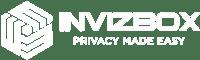 invizibox logo in white