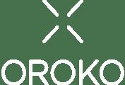 oroko logo in white