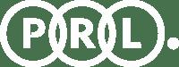 prl logo in white